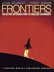Cover of: Frontiers