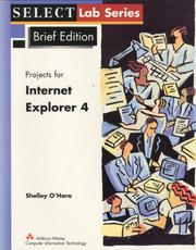 Cover of: Projects for Internet Explorer 4
