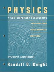 Cover of: Physics a Contemporary Perspective
