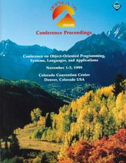 Cover of: OOPSLA `99 Conference Proceedings
