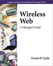 Cover of: Wireless web : a manager's guide