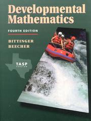 Cover of: Developmental Mathematics Tasp Version