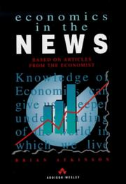 Cover of: Economics in the News | G.B.J. Atkinson