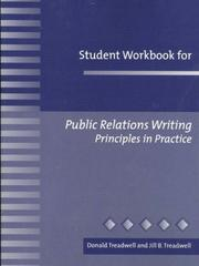 Cover of: Student Workbook for Public Relations Writing