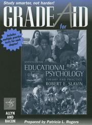 Cover of: Gradeaid for Educationa Psychology: Theory and Practice