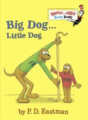 Cover of: Big Dog . . . Little Dog