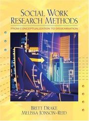 Cover of: Social work research methods |