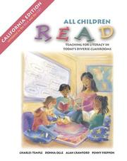 Cover of: All Child Read: Tchg for Lit in Tod CA W/Bkt