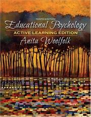 Cover of: Educational Psychology, Active Learning Edition