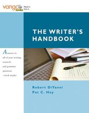 Cover of: The writer's handbook
