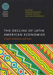 Cover of: The decline of Latin American economies