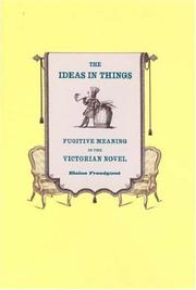 Cover of: The Ideas in Things