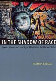 Cover of: In the Shadow of Race | Victoria Hattam