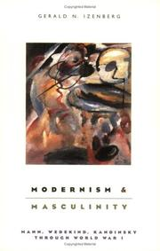 Cover of: Modernism and masculinity