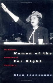 Cover of: Women of the Far Right | Glen Jeansonne