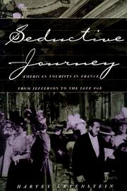 Cover of: Seductive journey | Harvey A. Levenstein