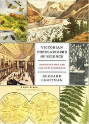 Cover of: Victorian Popularizers of Science by Bernard Lightman