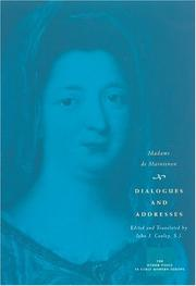 Cover of: Dialogues and Addresses (The Other Voice in Early Modern Europe)