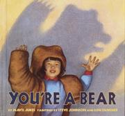 Cover of: You're a bear