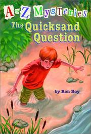 Cover of: The quicksand question