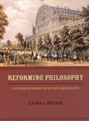 Cover of: Reforming philosophy | Laura J. Snyder