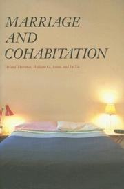 Cover of: Marriage and Cohabitation (Population and Development Series) | Arland Thornton