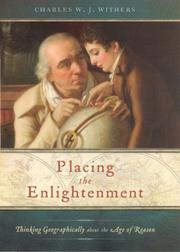 Cover of: Placing the Enlightenment