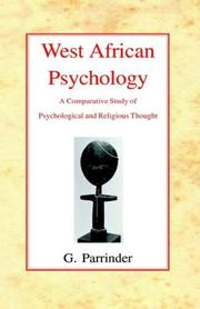 Cover of: West African Psychology