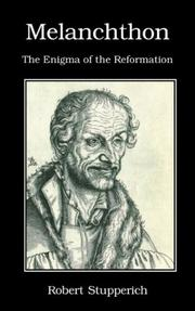 Cover of: Melanchthon