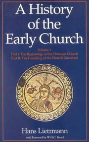 Cover of: History of Early Church