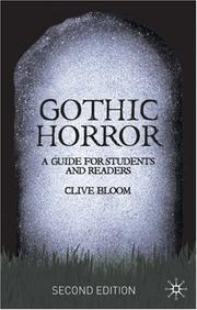 Cover of: Gothic Horror