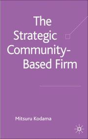 Cover of: The Strategic Community-based Firm