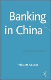 Cover of: Banking in China | Volaine Cousin