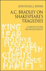 Cover of: A.C. Bradley on Shakespeare