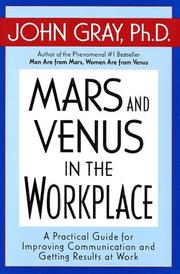 Cover of: Mars and Venus in the Workplace