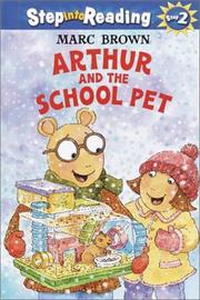 Cover of: Arthur and the school pet