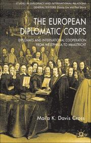 Cover of: The European Diplomatic Corps | Mai
