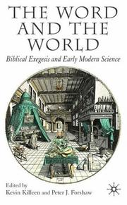 Cover of: The Word and the World |