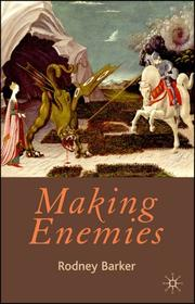 Cover of: Making Enemies | Rodney Barker