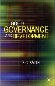 Cover of: Good Governance and Development