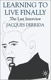 Cover of: The Last Interview: Learning to Live Finally