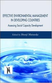 Effective Environmental Management in Developing Countries