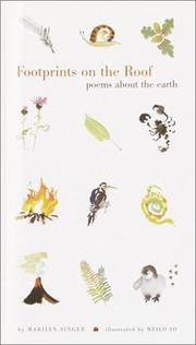 Cover of: Footprints on the roof: poems about the earth