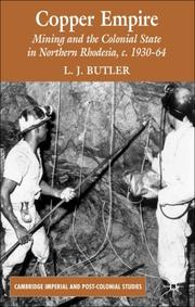 Cover of: Copper Empire | Larry Butler