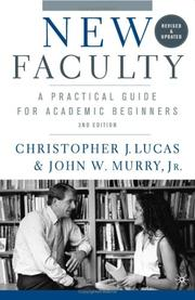Cover of: New Faculty, Second Edition | Christopher J. Lucas