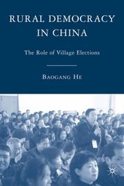 Cover of: Rural Democracy in China