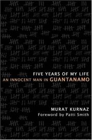 Cover of: Five Years of My Life | Murat Kurnaz