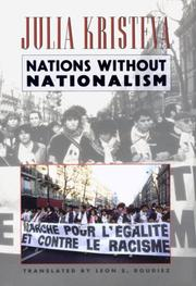 Cover of: Nations without nationalism by