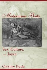 Cover of: Modernism's body