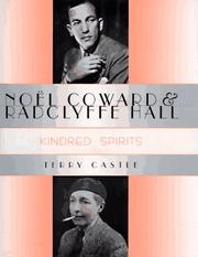 Cover of: Noël Coward & Radclyffe Hall